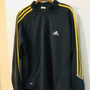 Adidas Men's Quarter Zip Jacket